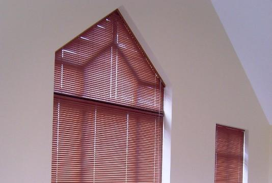 Irregular Shaped Windows Houseblinds Ca