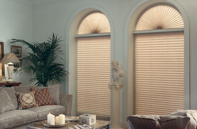Irregular Shaped Windows Houseblinds Ca